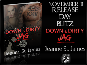 Down and Dirty JAG Release Day Blitz