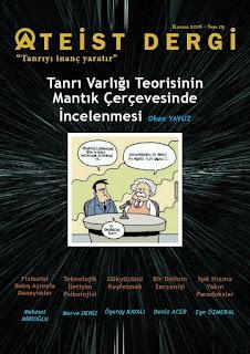 Ateist Dergi 19. Sayı Kasım 2016