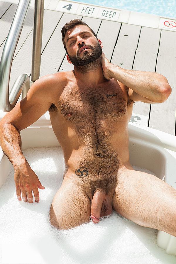 Hairy men nude fakes sucking cock knees