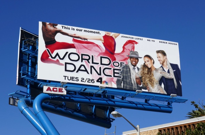 World of Dance season 3 NBC billboard
