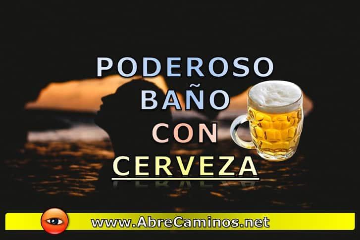 Baño de Cerveza para Suerte y Amor