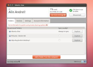 ubuntuone qt interface