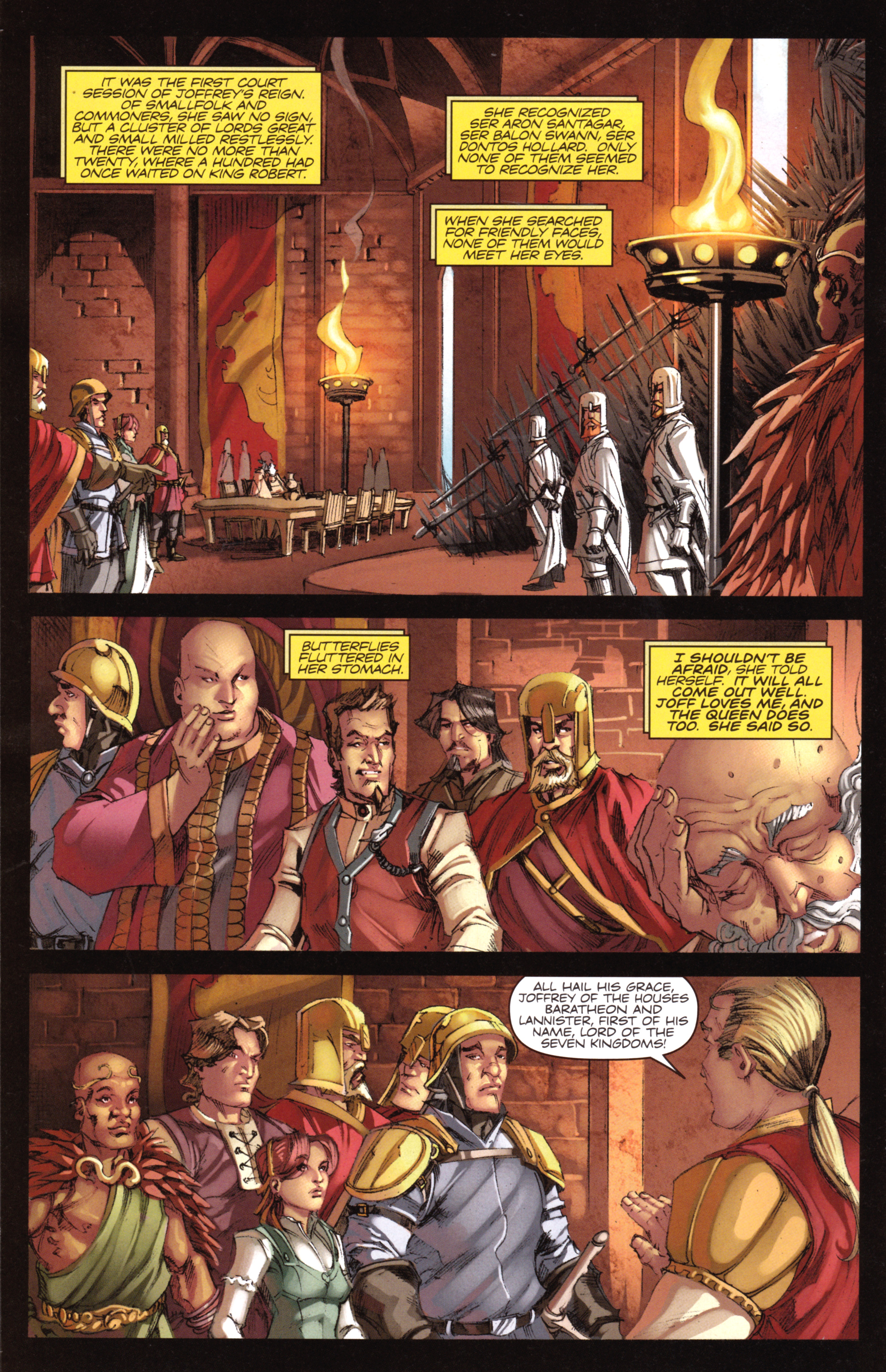Read online A Game Of Thrones comic -  Issue #18 - 14
