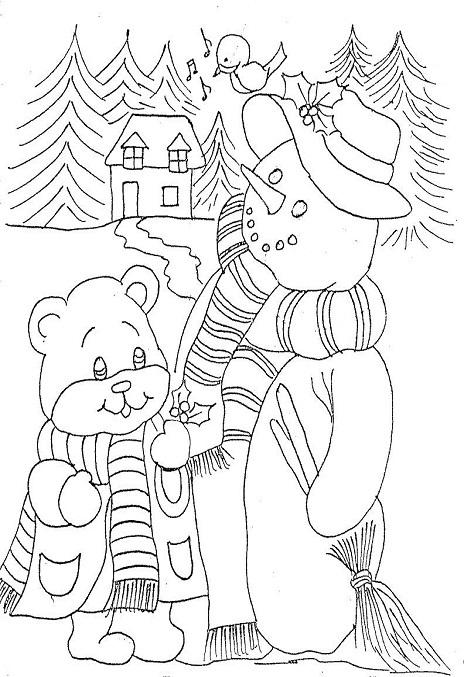 desenhos sobre natal para imprimir e colorir maternal espaço maternal