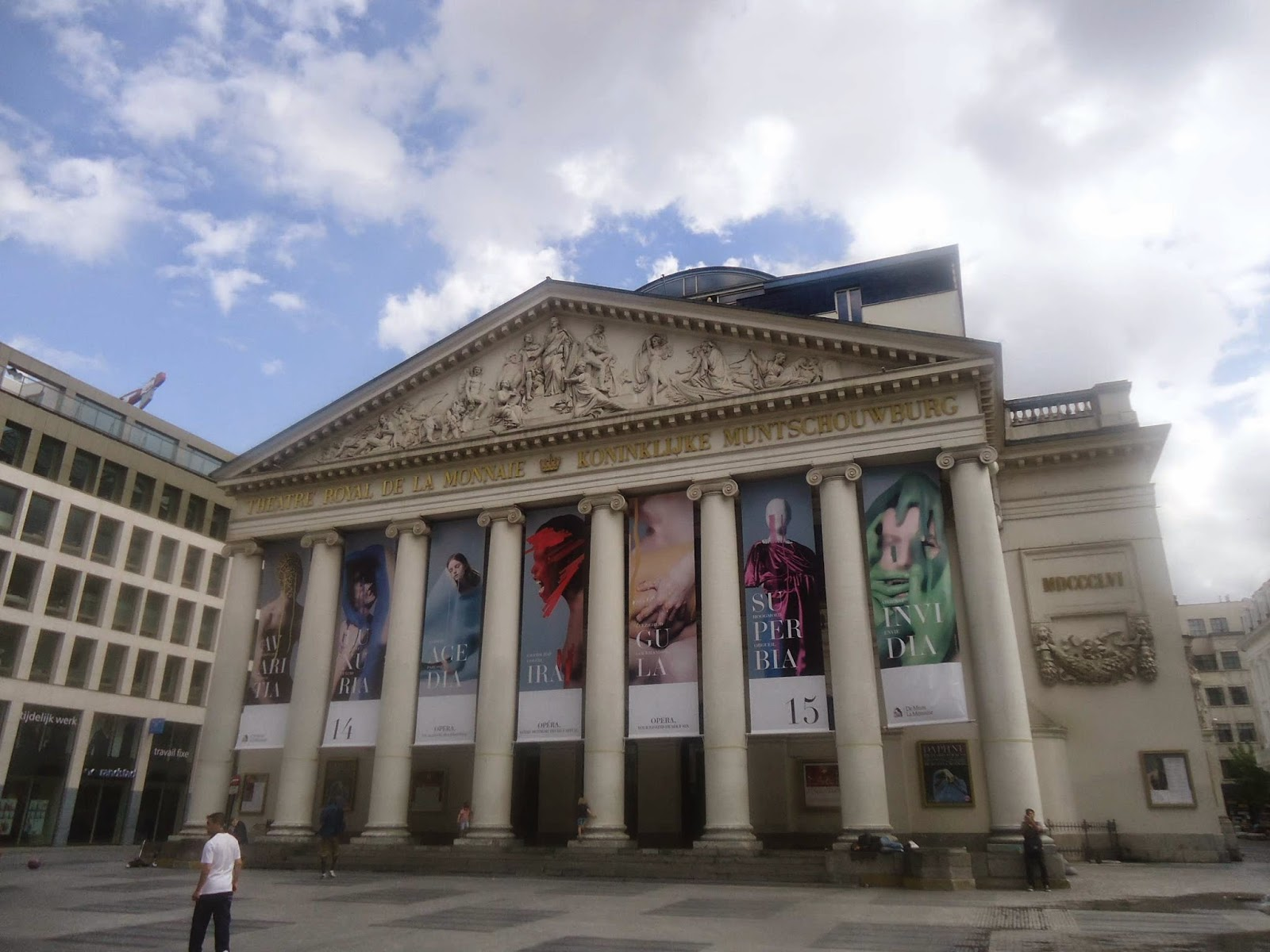 Theatre la monnaie in brussels belgium history travel