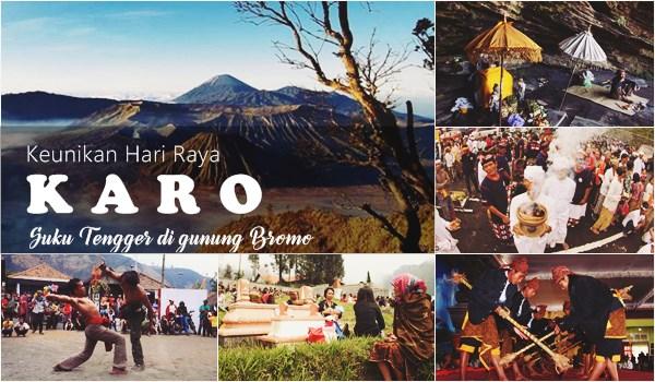 Hari Raya Karo Suku Tengger di Bromo - Bromo expedition