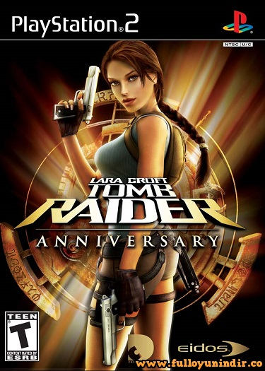 Lara Croft Tomb Raider Anniversary ps 2