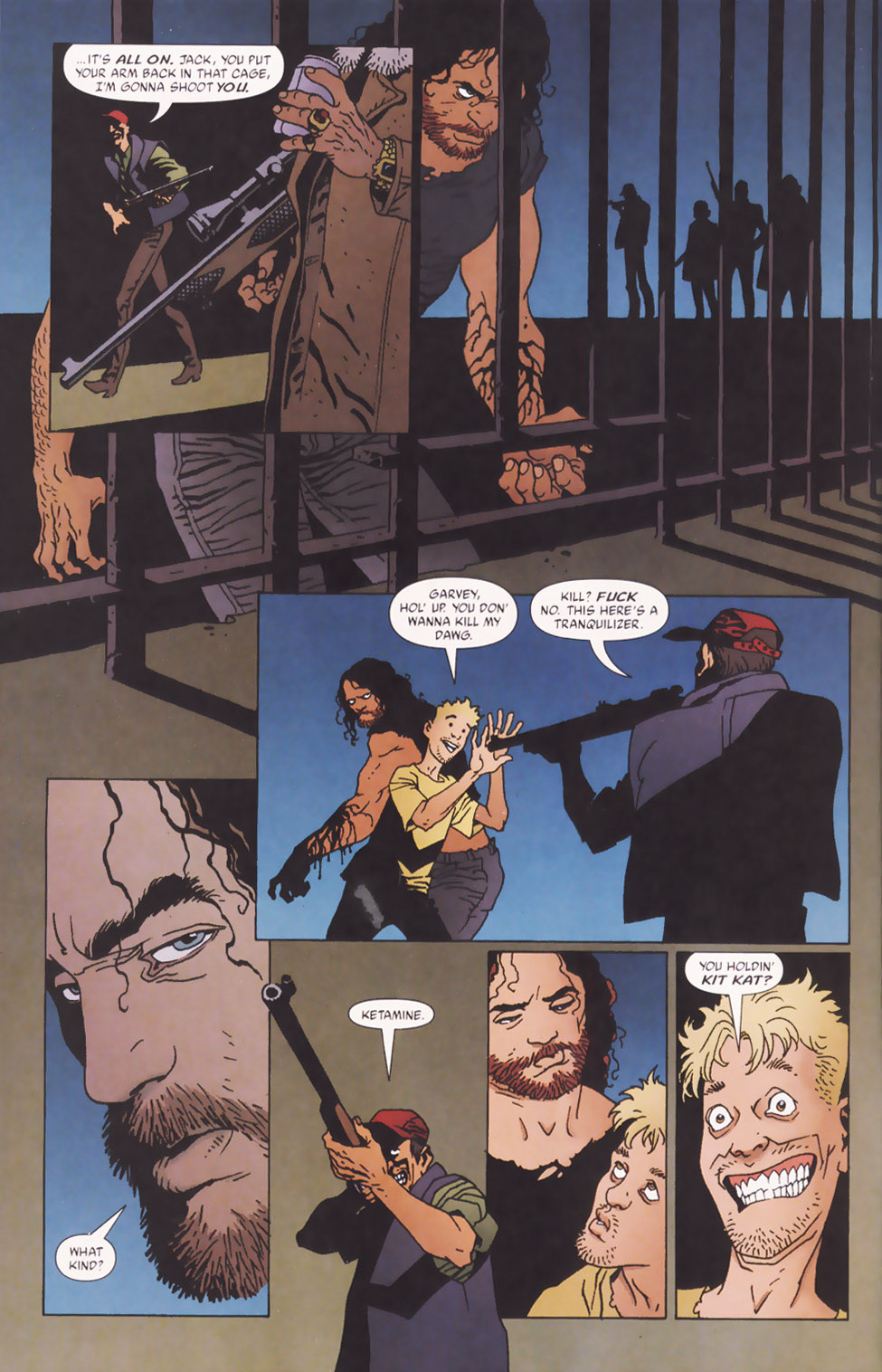Read online 100 Bullets comic -  Issue #48 - 5