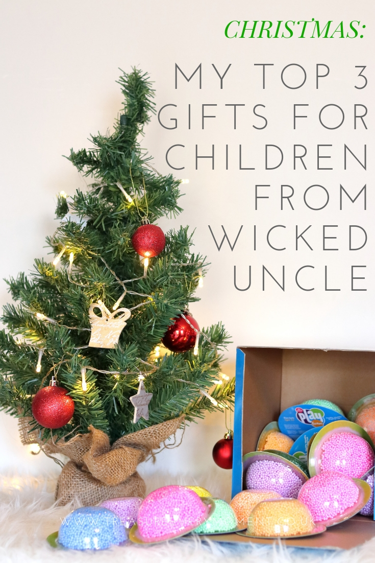 CHRISTMAS: My Top 3 Gifts for Children from Wicked Uncle