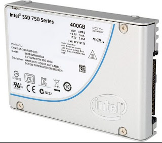 Intel SSD 750 Series NVMe 2.5Inc 400Gb