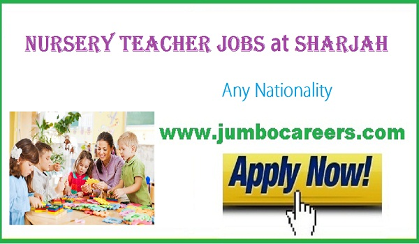 Latest jobs openings in educational firm, recent Sharjah jobs with salary,