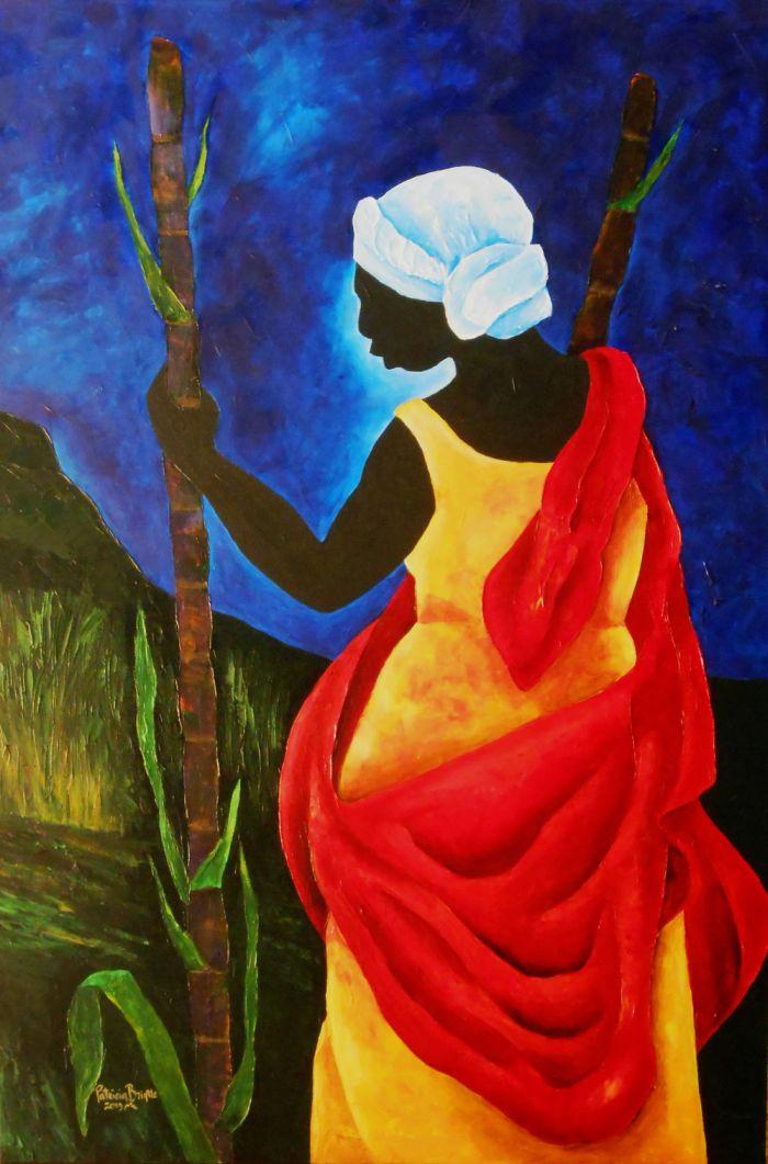 Гаитянский художник