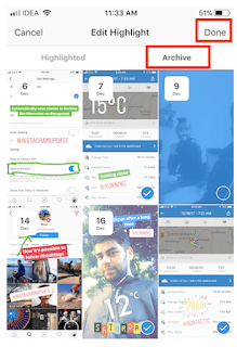 Cara Edit Stories Highlight Di Instagram untuk Mengedit Cerita Sorotan Di Instagram