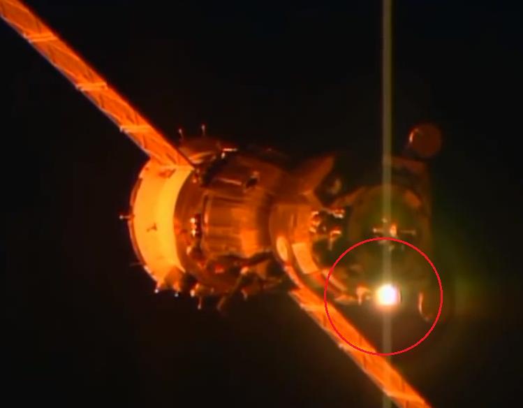 1 - Astronauta de ESA alcanza a ver un OVNI de Cerca – Declaraciones desde la ISS
