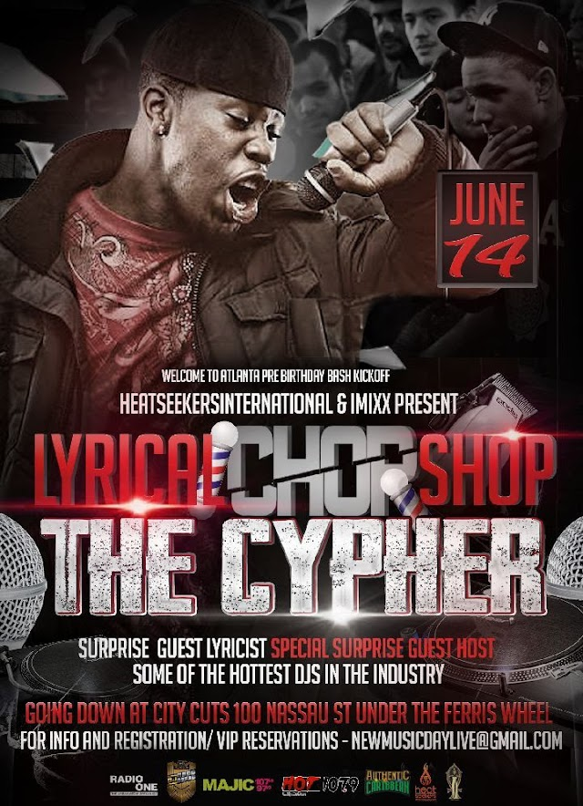 """Lyrical Chop Shop """"The Cypher""""...We're takin it to The Streets!!"""
