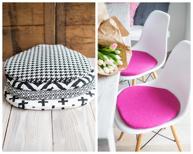 Sitzkissen/ Seat couchions,  Eames Chair