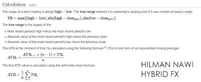 [BASIC MT4 : INDICATOR ATR] : PART 1