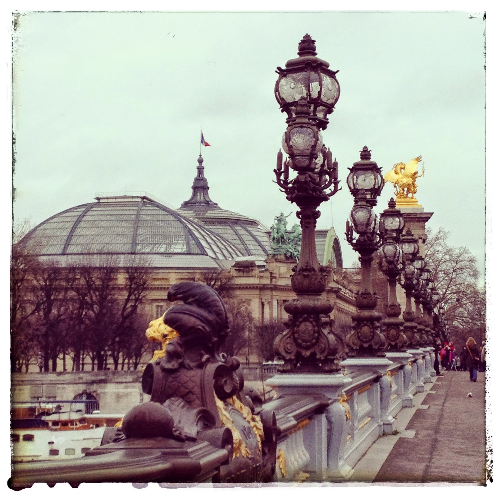 Tuesday Tune & Travel Tuesday: A Trip to Paris, Natasha in Oz, Pont Alexandre, Paris.