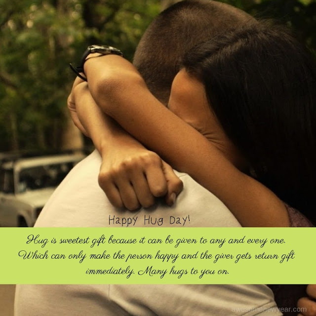 Hug Day Quotes for husband
