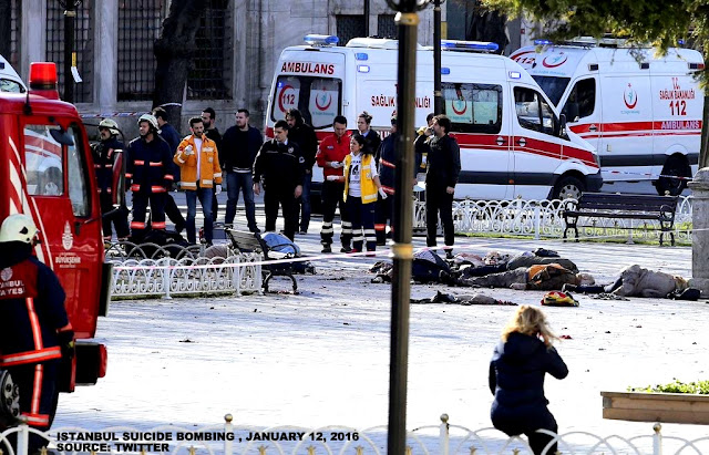 NEWS | Istanbul Suicide Bombing, 10 Killed
