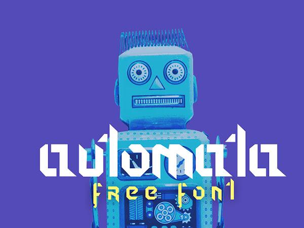 Download Automata Geometric Font Free