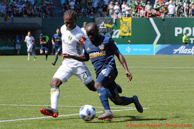 hard working player for the Timbers