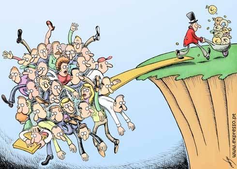 Resultado de imagem para desigualdade entre ricos e pobres no mundo