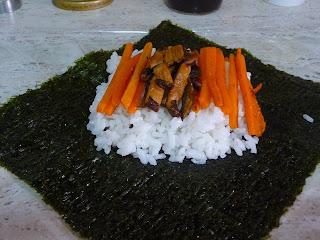 onigirazu de pollo katsu cocina japonesa gastronomia japonesa sandwich arroz sobras Tochi Ueyama Cooking papa RECETA