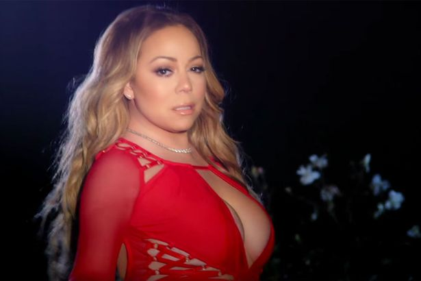 Mariah-Carey-sets-her-wedding-dress-ablaze-in-a-new-music-video