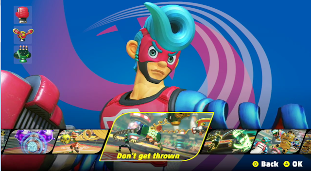 ARMS Training Mode AI don't get thrown