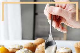 Vegan Meyer Lemon Chia Muffins