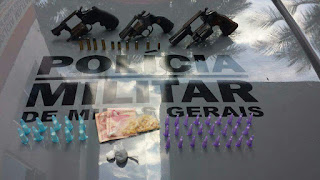 POLICIAMG  - Armas apreendidas