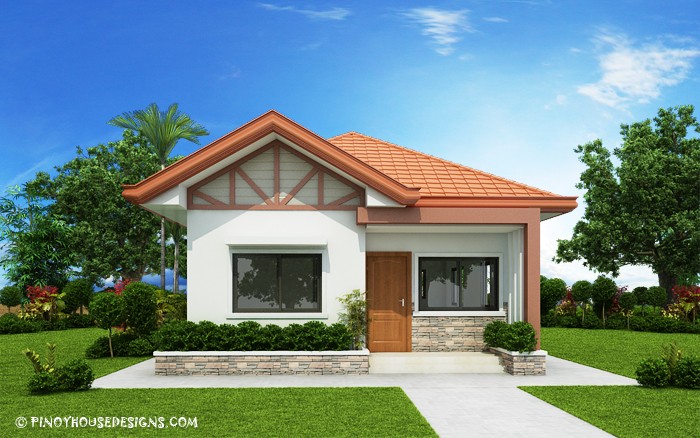 47 - View 2 Bedroom Small House Design Floor Plan Pics