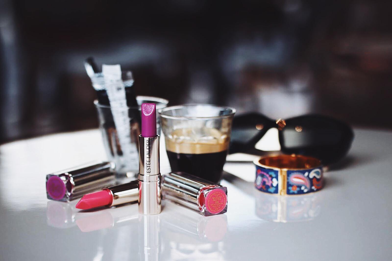 estee lauder pure color love balm baume à lèvres avis test swatch swatches toutes les teintes