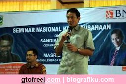 Kisah dan Profil Sandiaga Uno | Pengusaha Sukses Berdarah Gorontalo