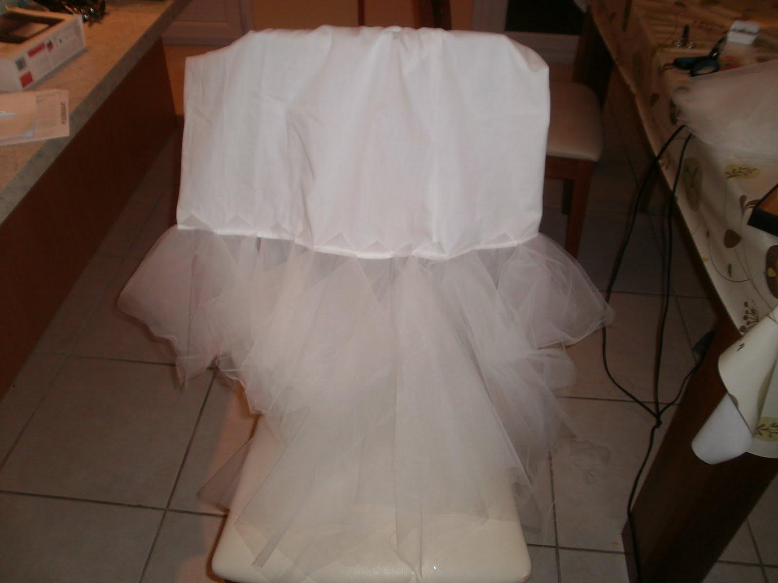 Tuto robe de mariee mouchoir de tulle