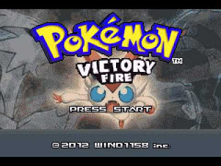 pokemon victory fire cover