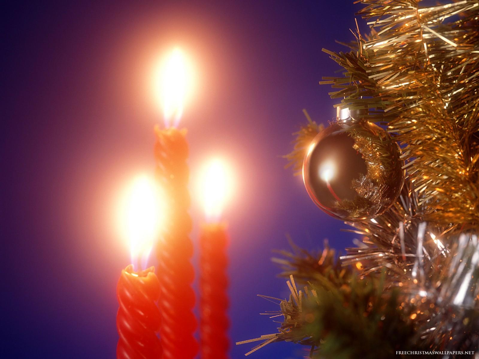 Images pour blogs et facebook bougies de no l fond d 39 cran - Bougie de noel ...
