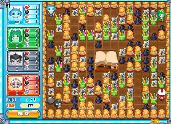 Trò chơi Game Đặt Boom It 5 online - chơi nhanh cực vui và hấp dẫn f