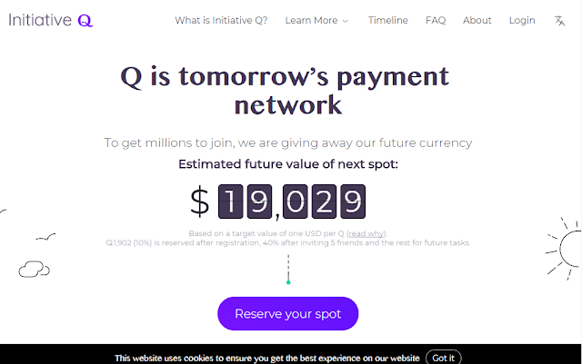 Be Part of the Future PayPal - Initiative Q