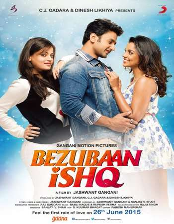 Poster Of Bezubaan Ishq 2015 Hindi 350MB HDTVRip 480p Free Download Watch Online