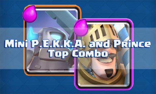 Strategi Serangan Prince dan Mini P.E.K.K.A. Arena 2 Clash Royale