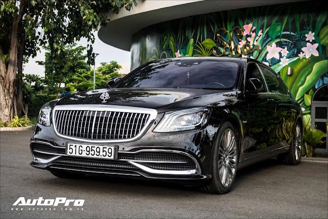 Cận cảnh Mercedes Maybach S450 giá hơn 7 tỷ đồng mới tậu của trưởng đoàn Car Passion 2019