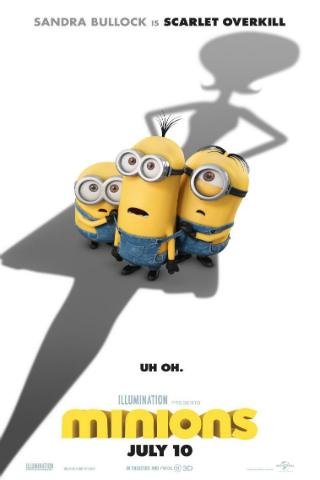 Minions [2015] [DVDR] [NTSC] [Custom – HD] [Latino]
