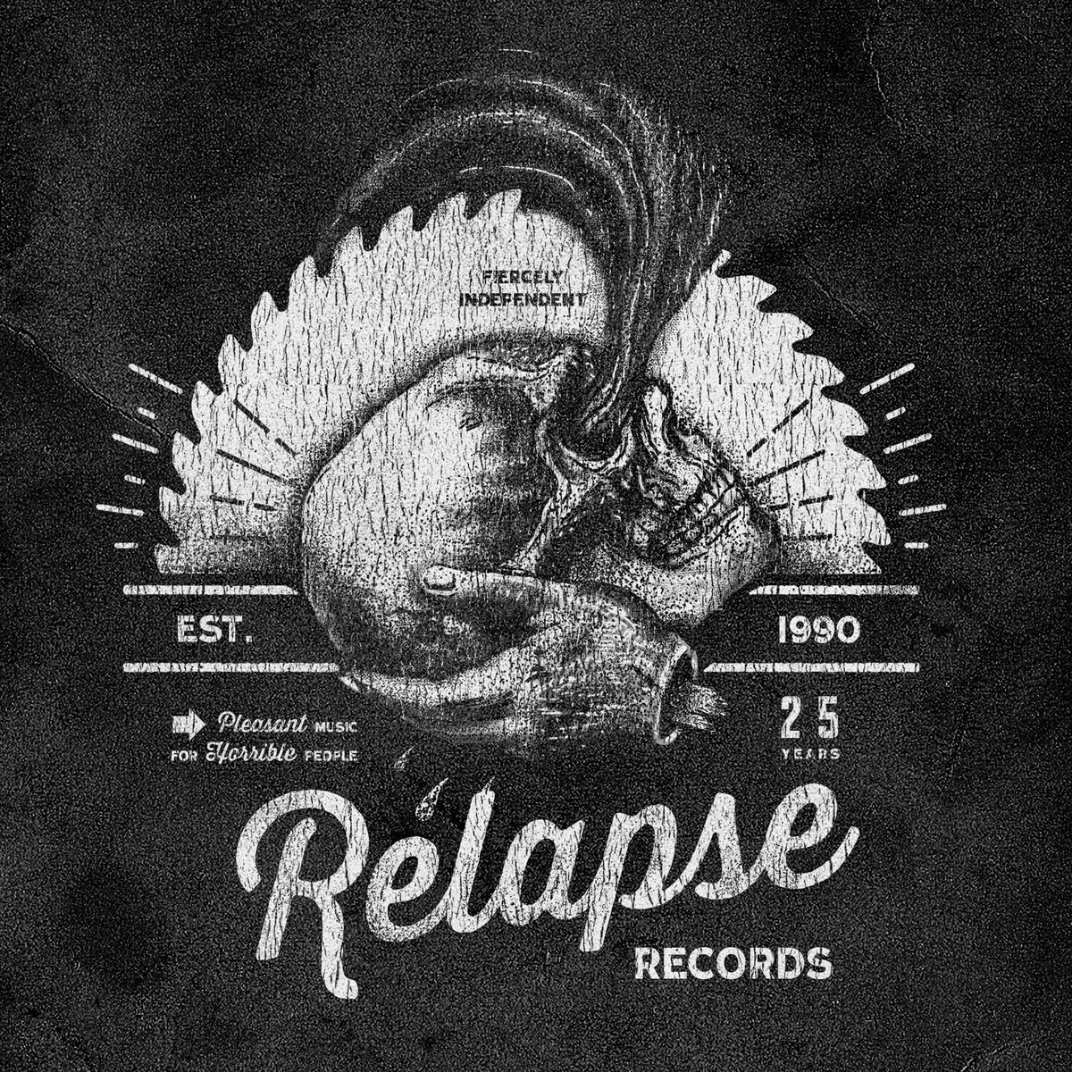 Relapse Records: 25 Years of Contamination [FREE] Relapse Sampler