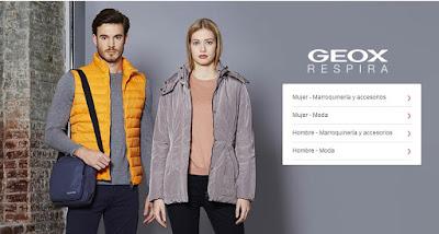 oferta de bolsos de la marca Geox