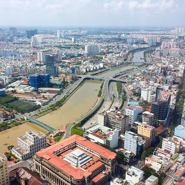 City View at Bitexco Financial Tower Ho Chi Minch City Vietnam