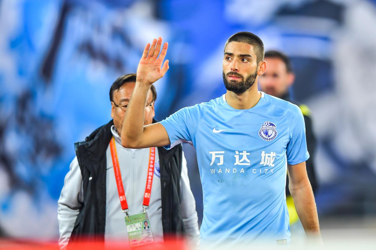 Mangkir, Yannick Carrasco Dihukum Tim Liga Super Cina
