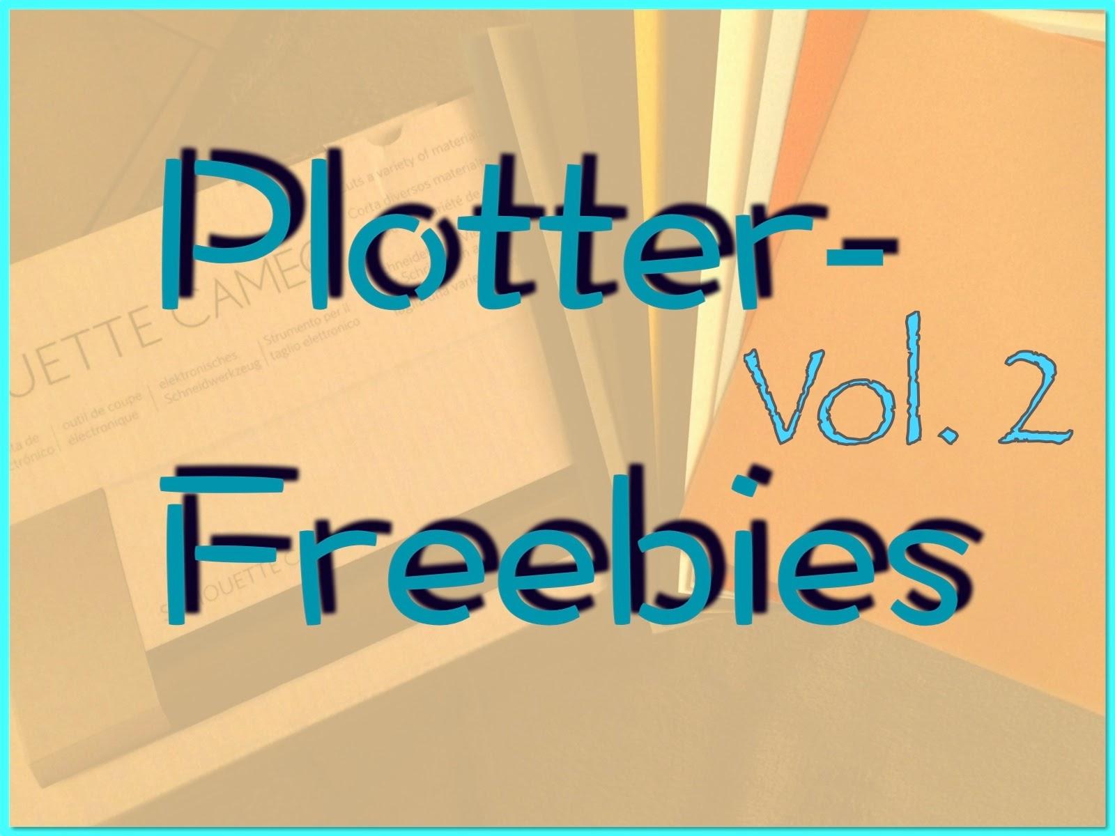 Plotter-Freebies Vol 2