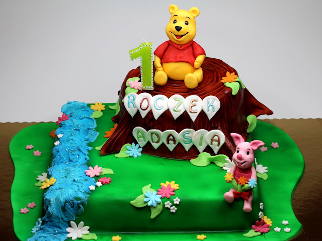 Winnie the Pooh - Birthday Cake in London